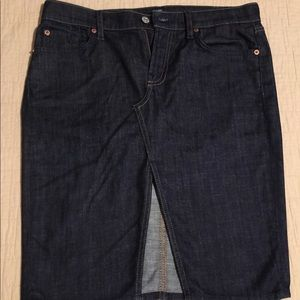 Like new 7 for all mankind skirt